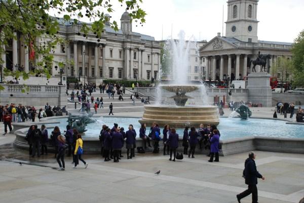 Trafalgar Square London - Map Location Facts Nearby