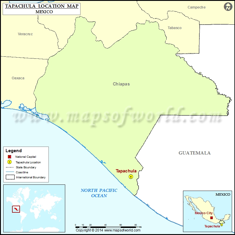 Where Is Tapachula