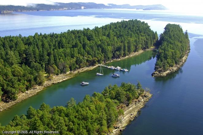 Wallace Island Marine Park In British Columbia Canada