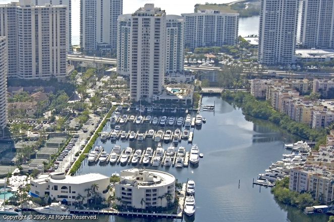 Turnberry Isle Marina Yacht Club In Aventura Florida