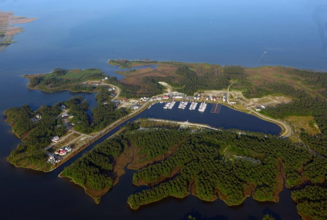 River Dunes Marina in Oriental North Carolina United States