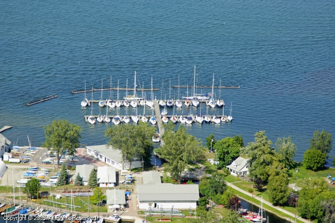 The Royal Canadian Yacht Club In Toronto Ontario Canada
