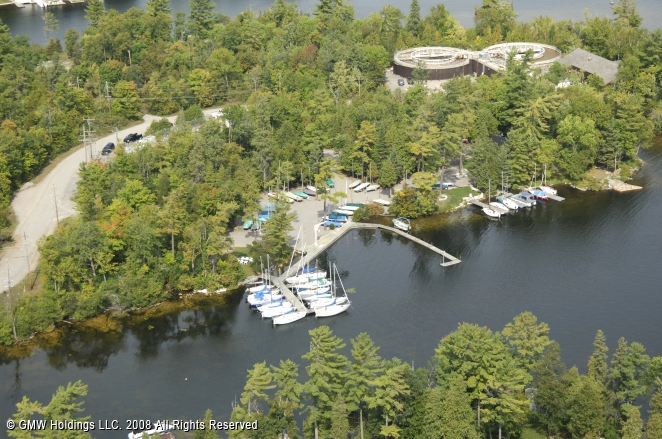 Pigeon Lake Yacht Club In Bobcaygeon Ontario Canada
