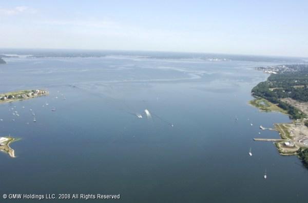 Sakonnet River North Inlet Tiverton Rhode Island United