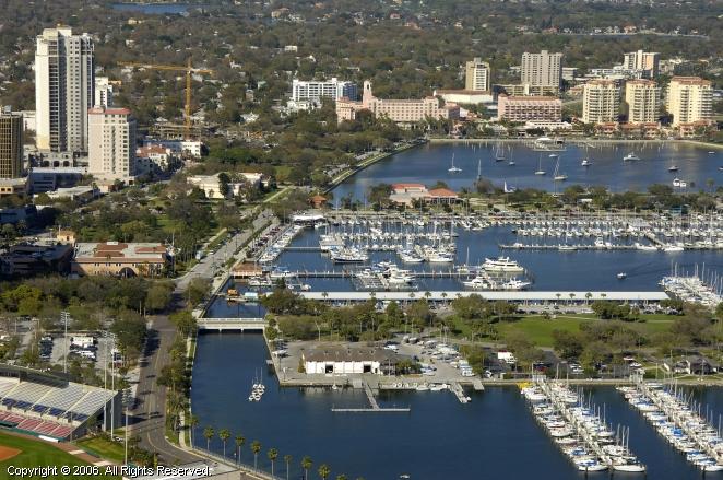St Petersburg Yacht Club In St Petersburg Florida United