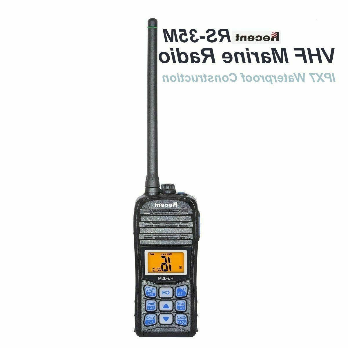 Recent RS-35M Marine Radio IP67 Waterproof Float Dual/Tri