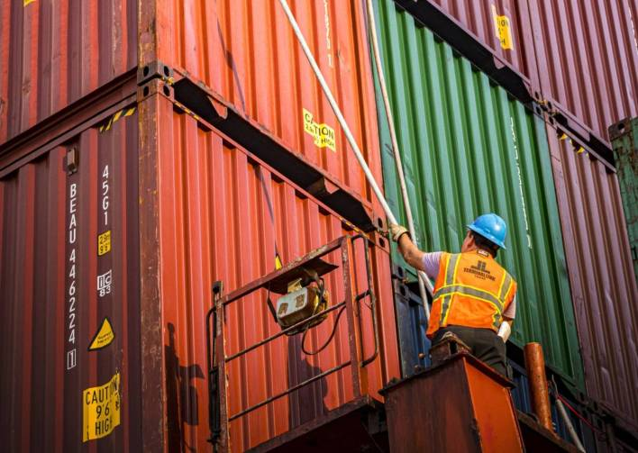 Port Houston Reports Solid Container Volumes