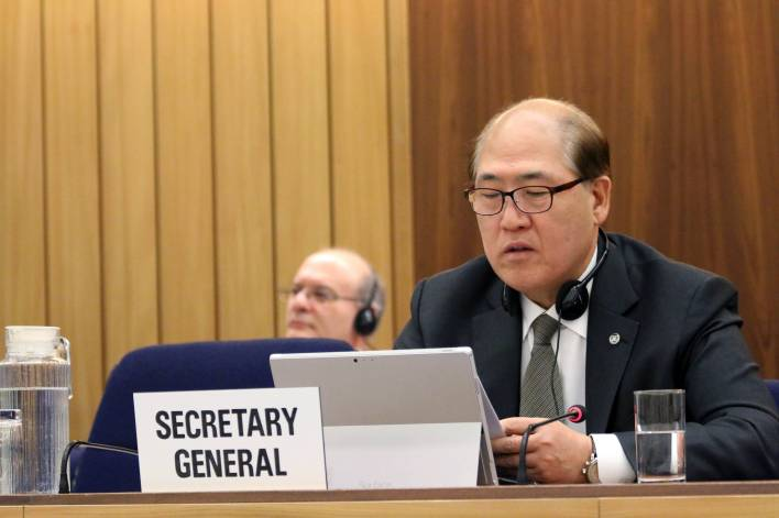 Video: IMO Secretary General Kitack Lim Weighs In On COVID-19