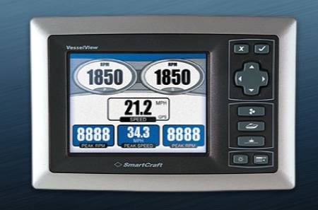 marine battery monitoring system 350 oil flow diagram mercury unveils new vesselview engine displays