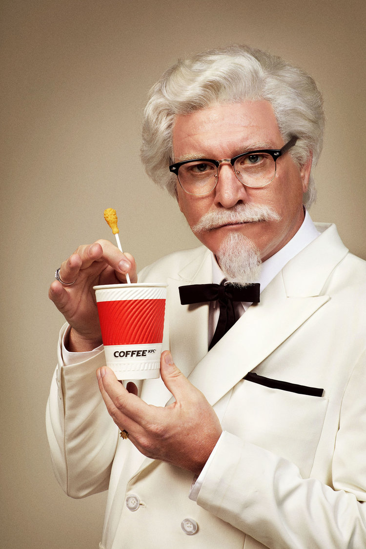 KFC Colonel Sanders returns to China with ground coffee  Marketing Interactive