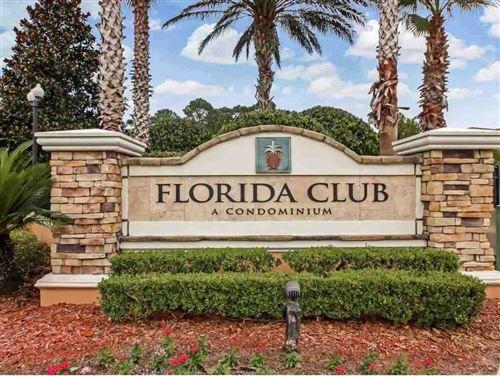 Photo of 540 Florida Club Blvd Unit 105, St Augustine, FL 32084 (MLS # 196090)