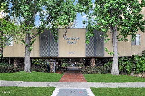 Photo of 1115 Cordova Street #112, Pasadena, CA 91106 (MLS # P1-4761)