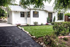 Photo of 743 East PALM Street, Altadena, CA 91001 (MLS # 819002287)