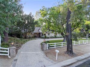 Photo of 5287 ROUND MEADOW Road, Hidden Hills, CA 91302 (MLS # 219005297)