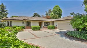 Photo of 3181 ORLANDO Road, Pasadena, CA 91107 (MLS # 819002301)
