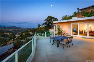 Photo of 2850 LAS ALTURAS Street, Hollywood Hills, CA 90068 (MLS # SR19117647)