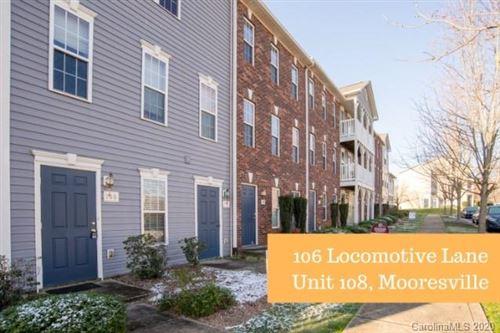 Photo of 106 Locomotive Lane #108, Mooresville, NC 28115 (MLS # 3595012)