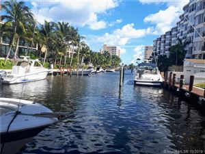 Photo of 4800 BAYVIEW DR #706, Fort Lauderdale, FL 33308 (MLS # A10601056)
