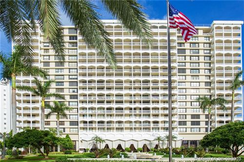 Photo of 9801 Collins Ave #18V, Bal Harbour, FL 33154 (MLS # A10905441)