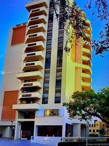 Photo of 911 E Ponce De Leon Blvd #1202, Coral Gables, FL 33134 (MLS # A10909657)