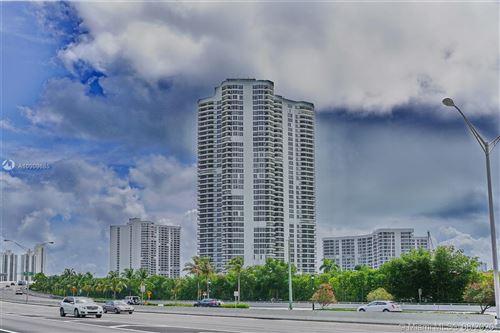 Photo of 3500 Mystic Pointe Drive #1502, Aventura, FL 33180 (MLS # A10909685)