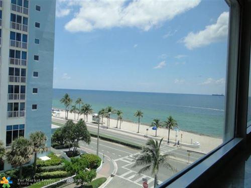 Photo of 209 N Fort Lauderdale Beach Blvd #5F, Fort Lauderdale, FL 33304 (MLS # F10204314)