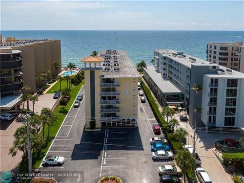 Photo of 1161 Hillsboro Mile #607, Hillsboro Beach, FL 33062 (MLS # F10230353)