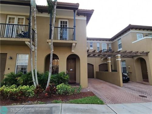 Photo of 6914 Julia Gardens Dr #6914, Coconut Creek, FL 33073 (MLS # F10237504)
