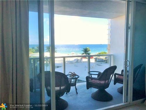 Photo of 1200 N Fort Lauderdale Beach Blvd #401, Fort Lauderdale, FL 33304 (MLS # F10204547)