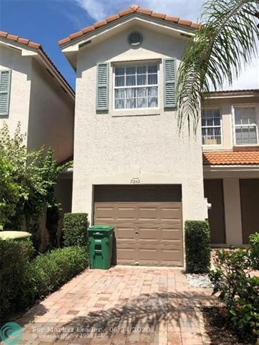 Photo of 8242 Prestige Commons Dr #8242, Tamarac, FL 33321 (MLS # F10231792)