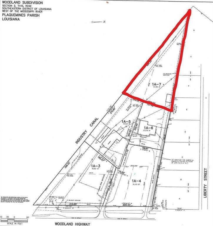 WOODLAND Highway, Belle Chasse, LA 70037 (MLS # 2181260