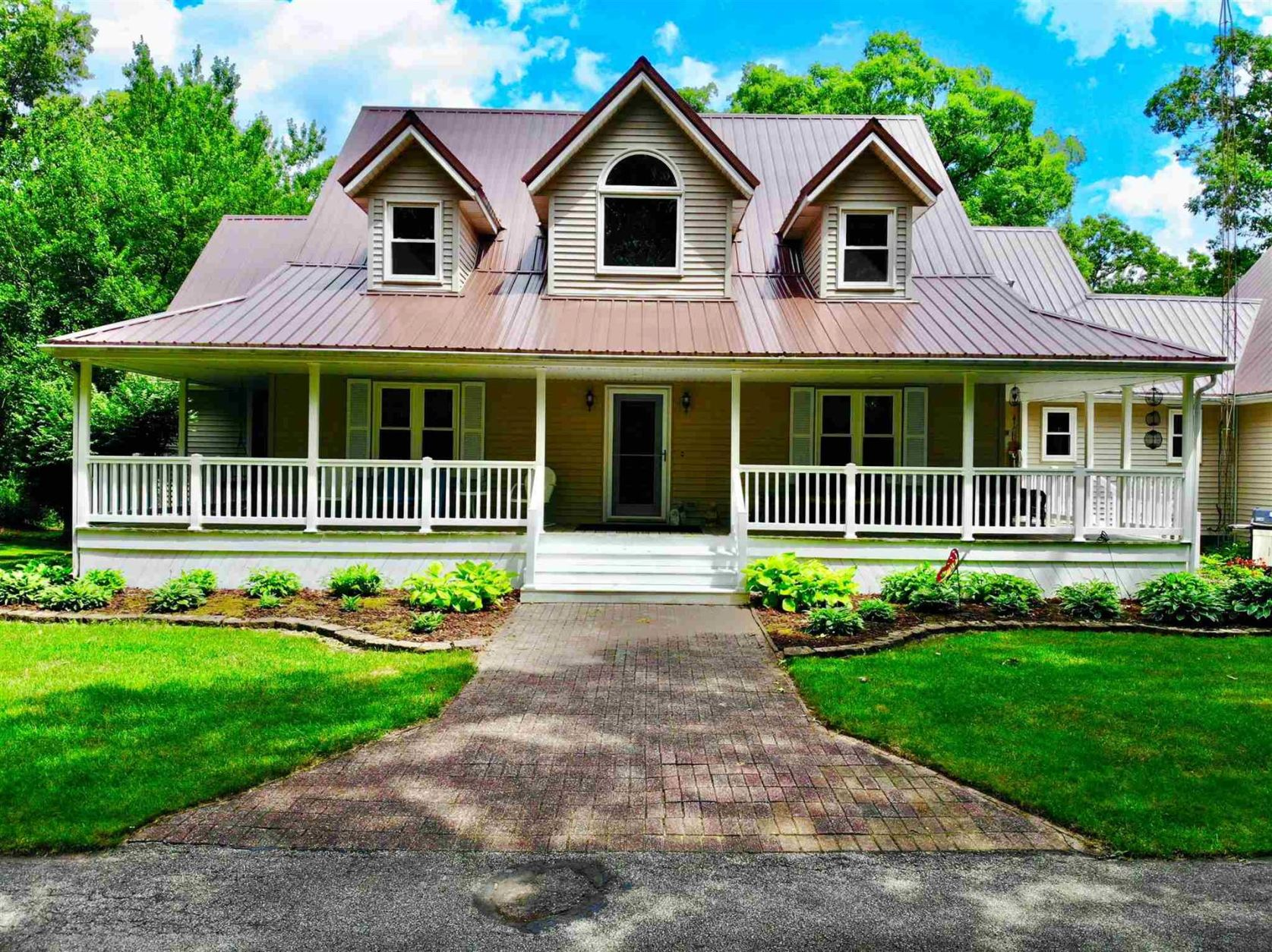 Photo of 4193 E 216 S Road, Knox, IN 46534 (MLS # 202026826)