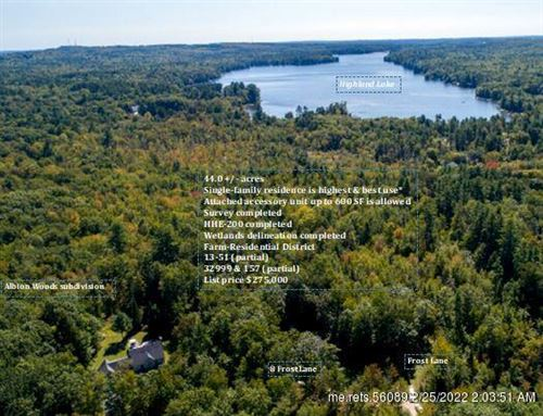 Photo of 0 Frost LN, Windham, ME 04062 (MLS # 1376592)