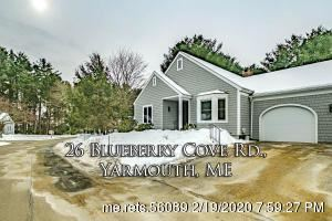 Photo of 26 Blueberry Cove #26, Yarmouth, ME 04096 (MLS # 1444869)