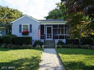 Photo of 725 MELROSE ST, ANNAPOLIS, MD 21401 (MLS # AA10052660)