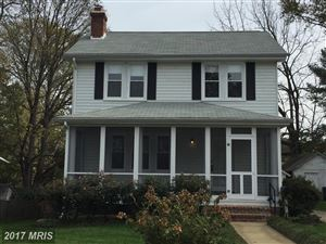 Photo of 14 N. CHERRY GROVE AVE, ANNAPOLIS, MD 21401 (MLS # AA10102733)