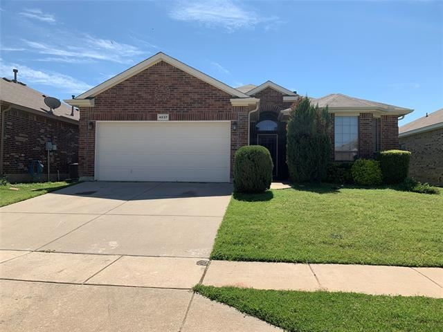Photo for 4837 Elkhart Drive, Fort Worth, TX 76036 (MLS # 14311089)