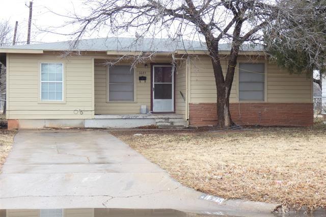 Photo for 1025 Shelton Street, Abilene, TX 79603 (MLS # 14499535)