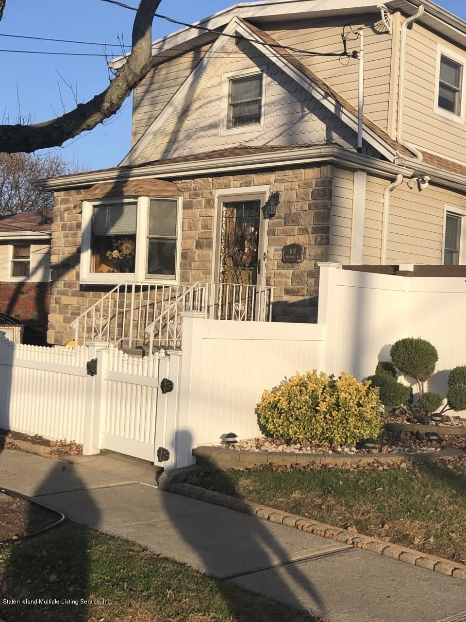 Photo for 108 Macormac Place, Staten Island, NY 10303 (MLS # 1134088)