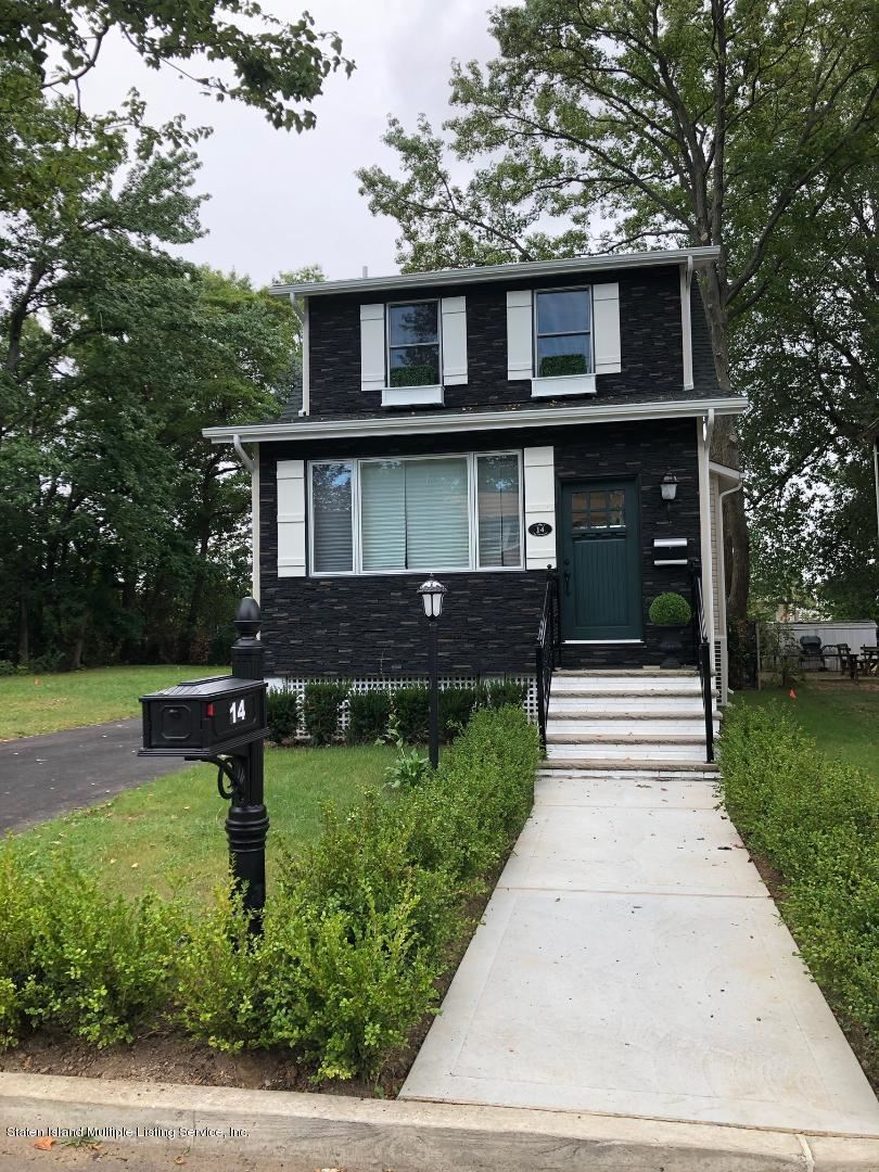 Photo for 14 Sinclair Avenue, Staten Island, NY 10312 (MLS # 1143700)
