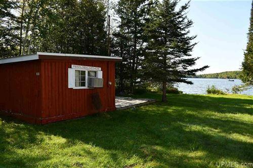 Photo of 161 N Swan Lake, Crystal Falls, MI 49920 (MLS # 1129877)
