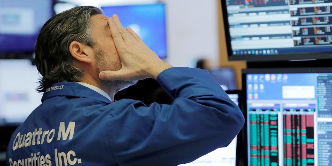 worried trader