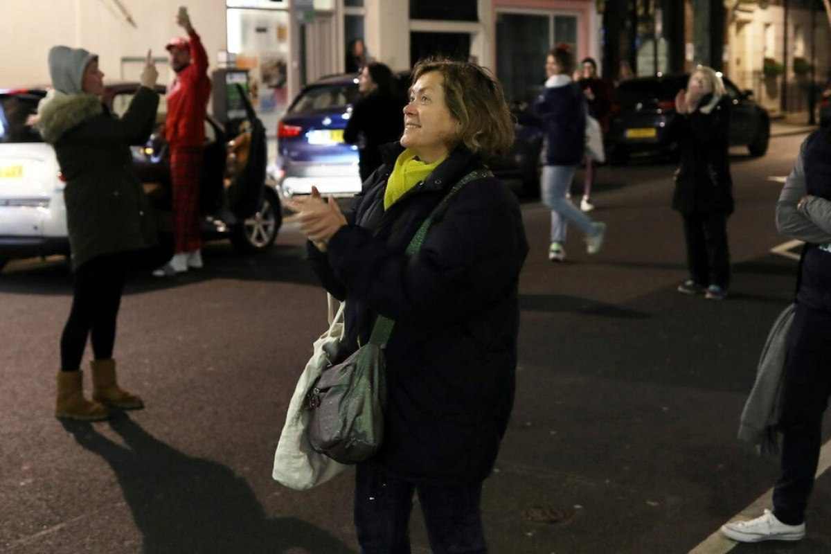 London clapping NHS staff coronavirus