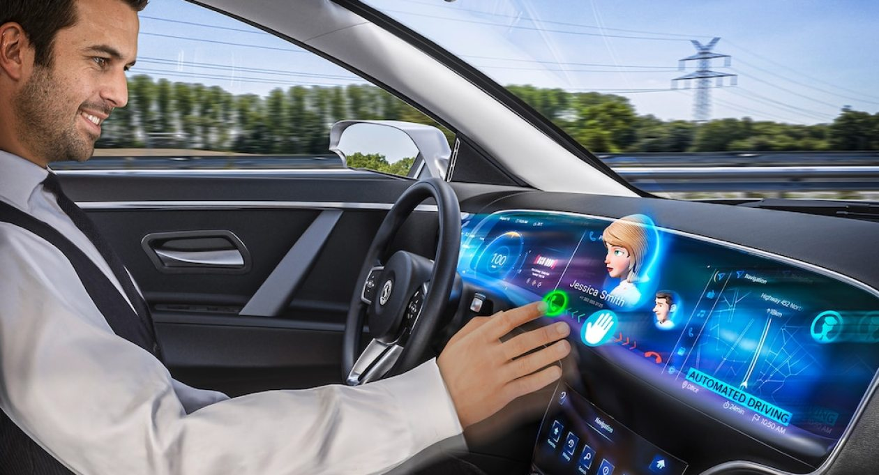 Continental 3D dashboard display