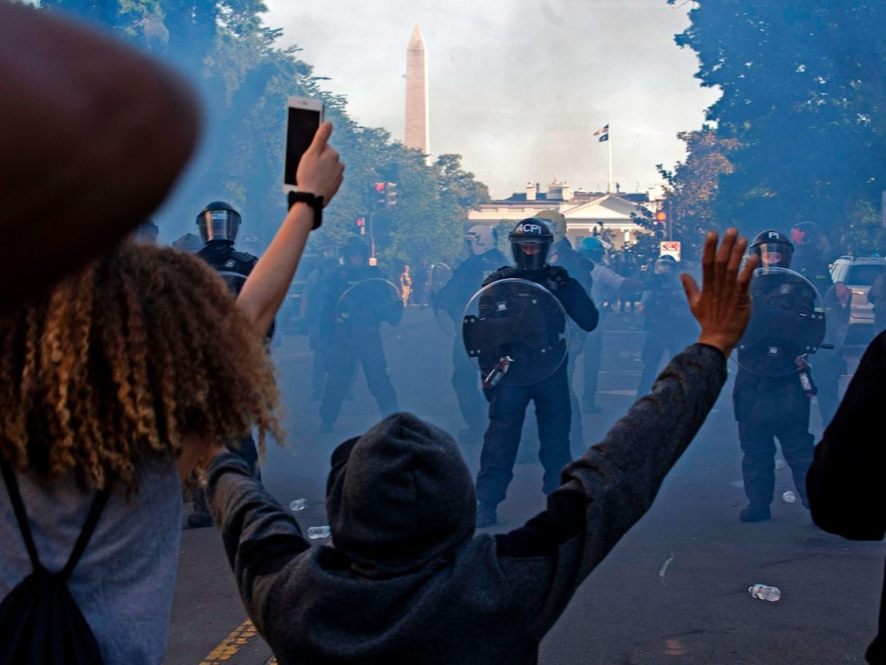 DC police protests