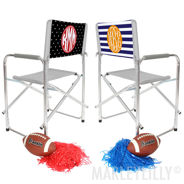 Tailgating Chairs Monogrammed Tailgate Chair