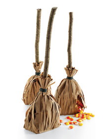 Witch's Broom Favors