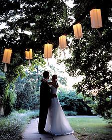 Dinner at Dusk: Paper Lanterns