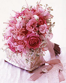 Pearlescent Pink Bouquet