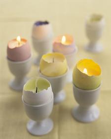 Votives casca de ovo